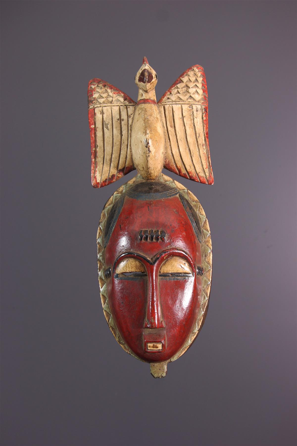 Yaoure Mask - African art