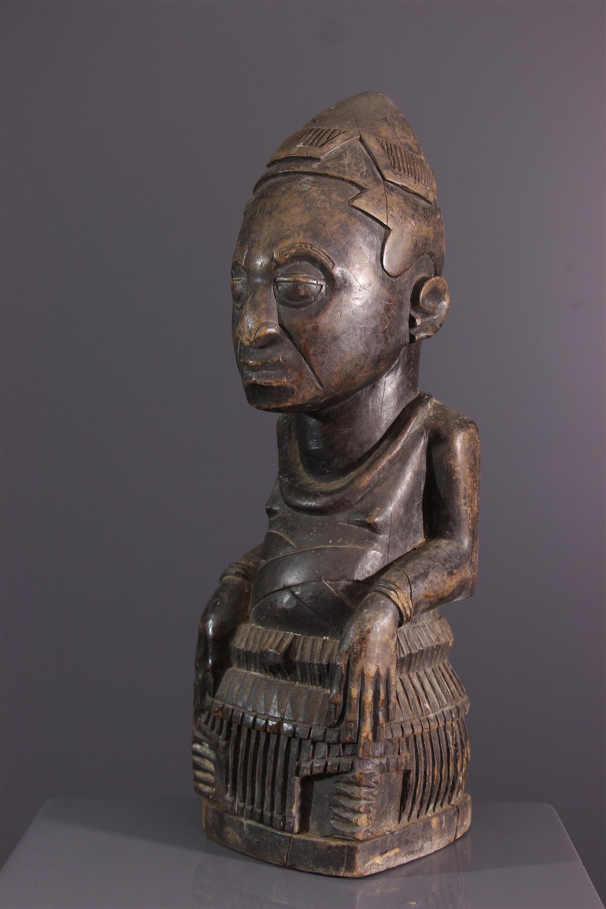 Statue Ndop - African art