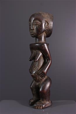 African art - Statuette Luba / Hemba