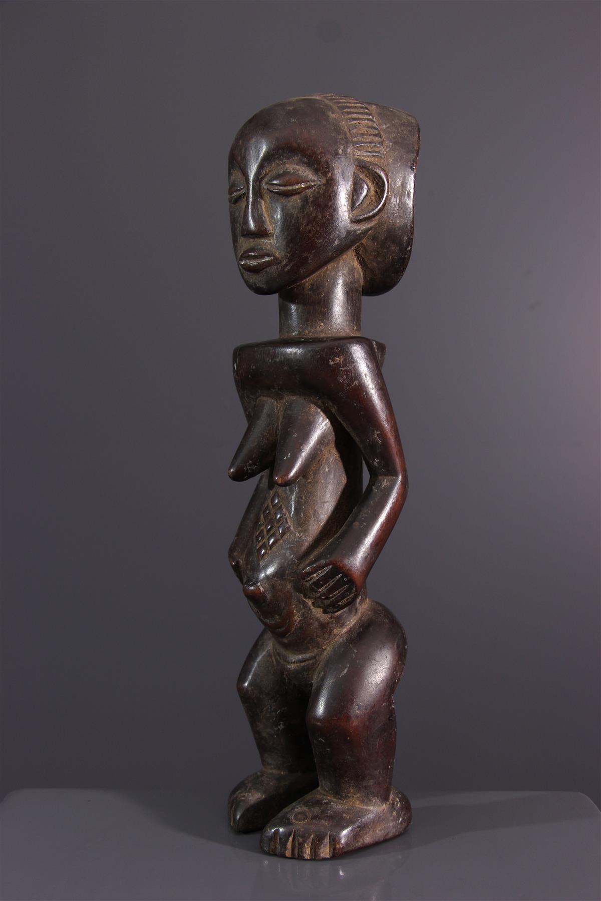 Statuette Luba - African art