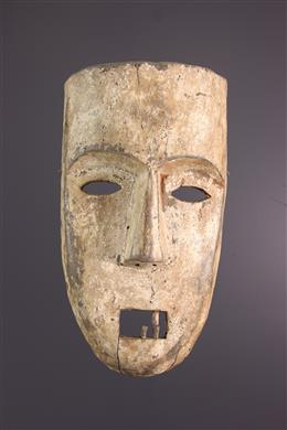 Large Kumu mask, Komo, Nsembu