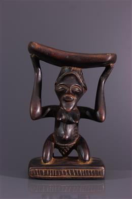 African art - Luba/Songye neck support