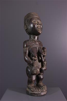 Maternity figure Kongo Yombe Pfemba