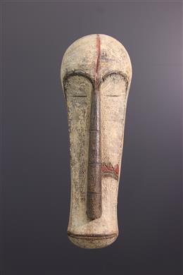 African art - Large Fang hem mask
