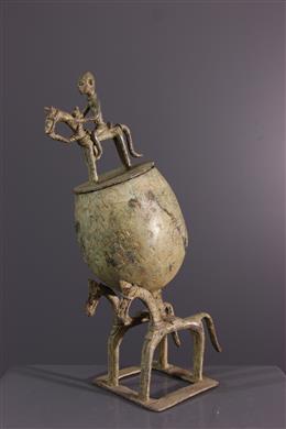 Dogon Horsemen s Cup in Bronze