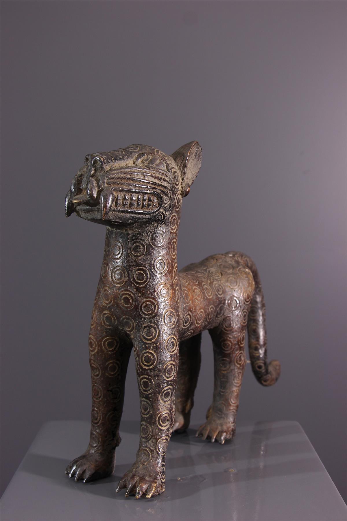 Leopard Benin - African art