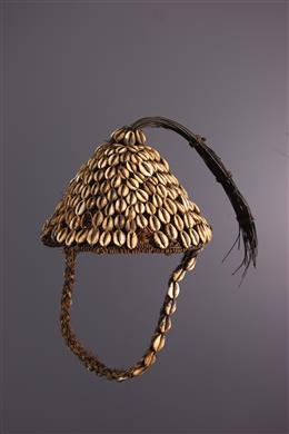 African art - Bwami Mukabas Lega Hairstyle