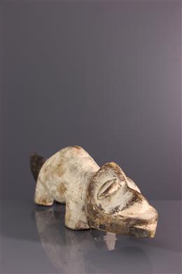 Lega zoomorphic figure of Bwami