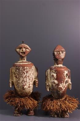 Couple of relic statues Ambete, Mbete