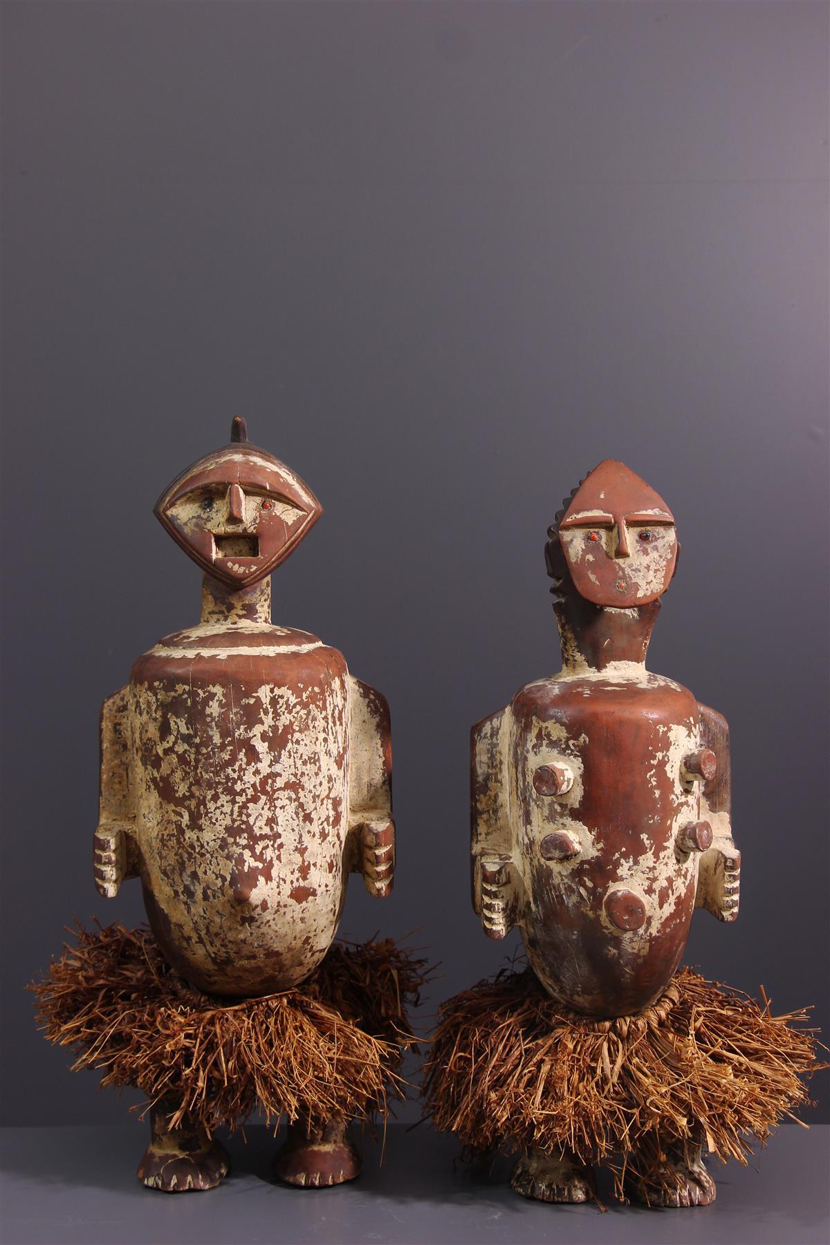 Ambete reliquaries - African art