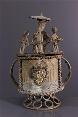 African art - Kuduo Akan ceremonial pot from Ghana