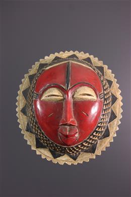 African art - Moon Mask Baule Gbagba