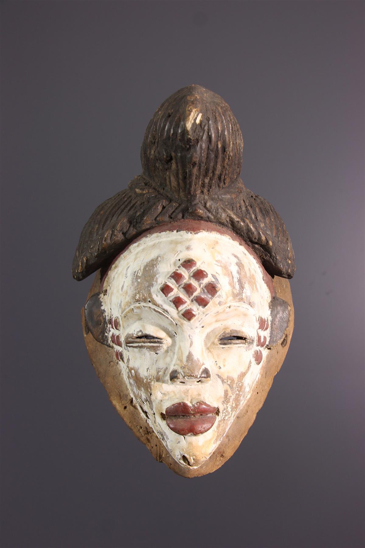 Punu Mask - African art