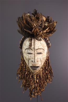 Large Okua Idoma Mask