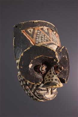 African art - Masque Bushoong Cuba Isheen imaalu