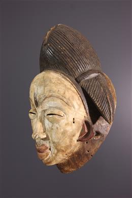 Punu mask of the Okuyi