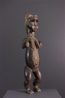 African art - Statue Dan L-Me - Ivory Coast