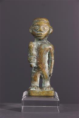 African art - Bronze Kongo statuette