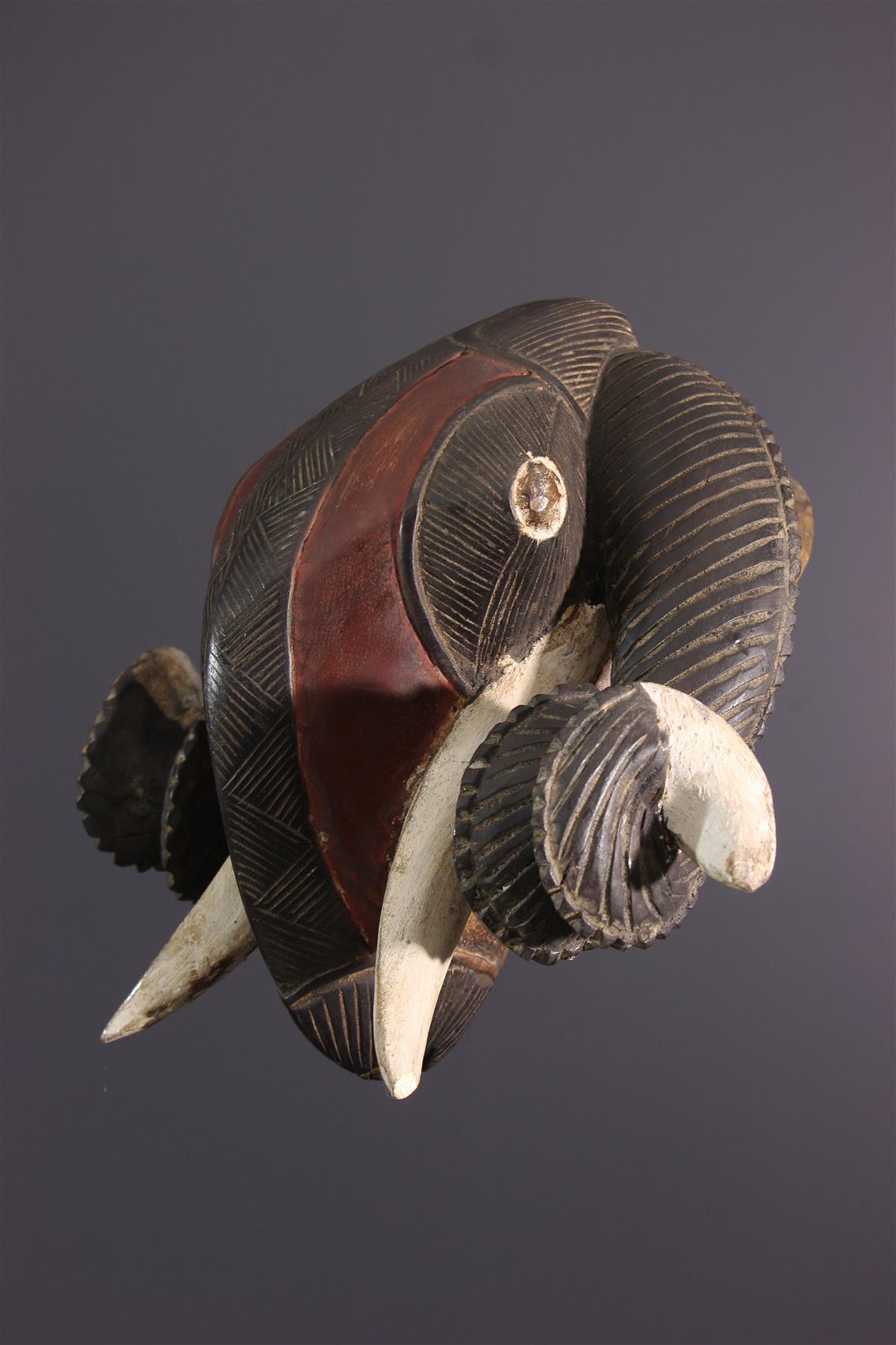 Baoulé Mask - African art
