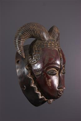 Baule Ndoma Horned Mask