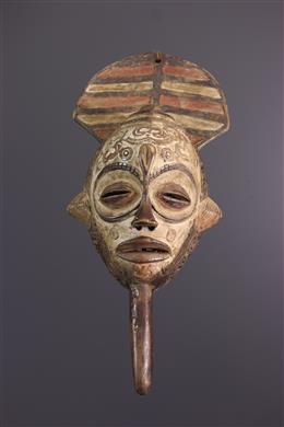 Bena Lulua polychrome mask