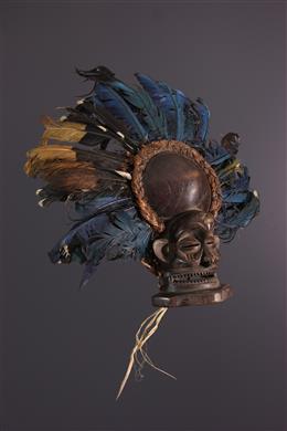 African art - Little Chihongo Chokwe Mask