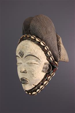 African art - Punu mask of Okuyi dance