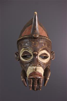 African art - Grand Mask Luluwa, Lulua