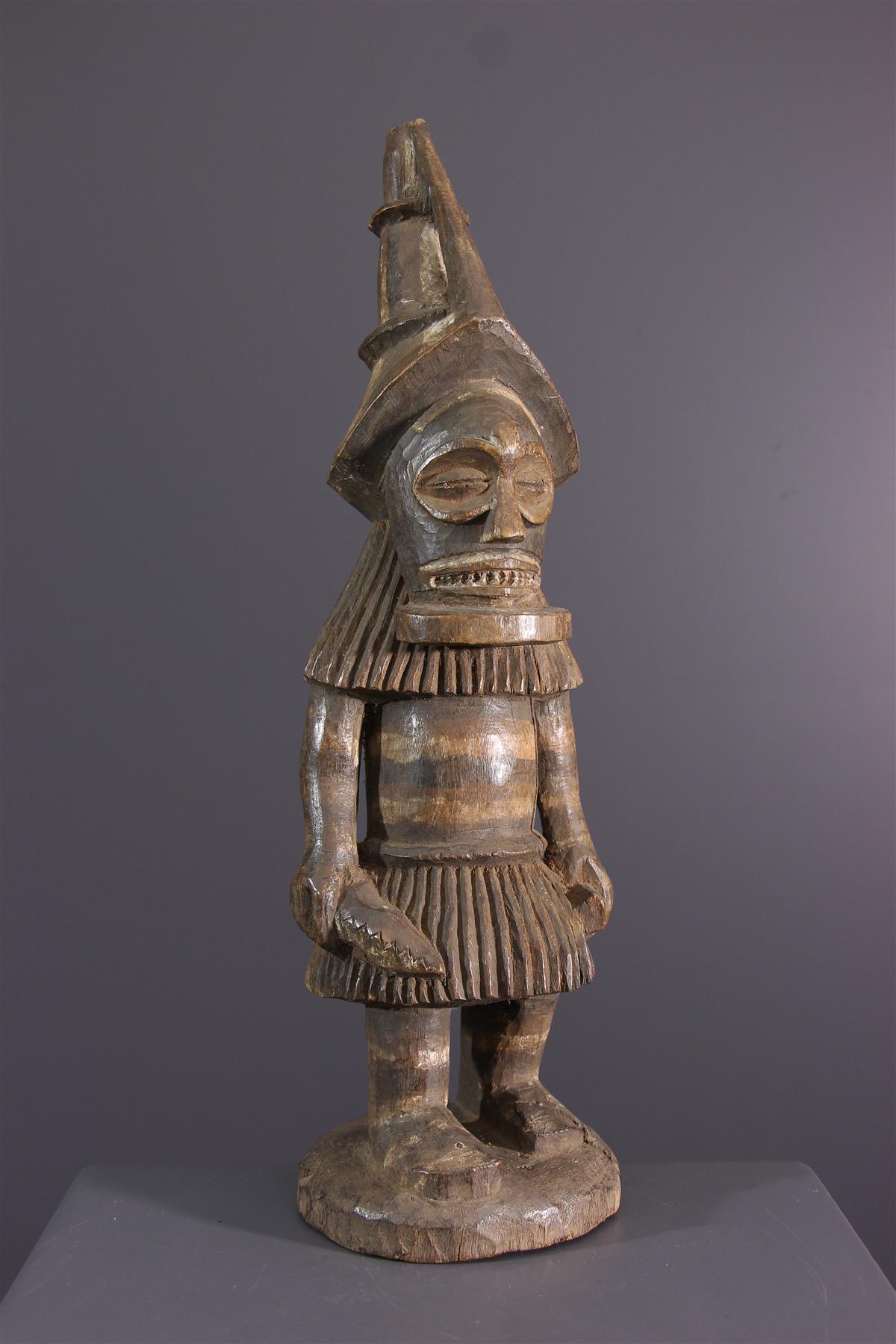 Tschokwe Statue - African art
