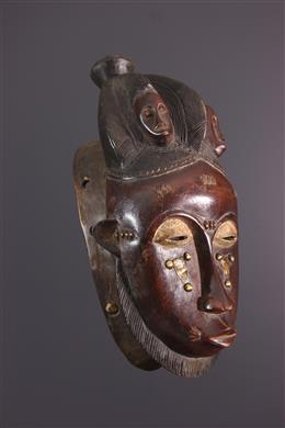 African art - Yohoure/Baoule Mask