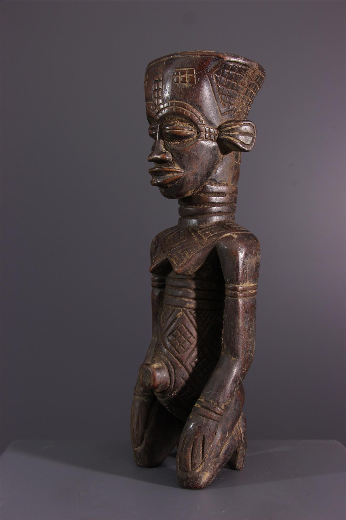 Statuette Ndengese - African art