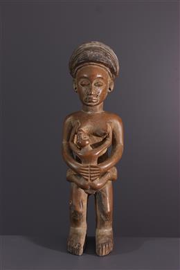 Fertility statuette Lwena