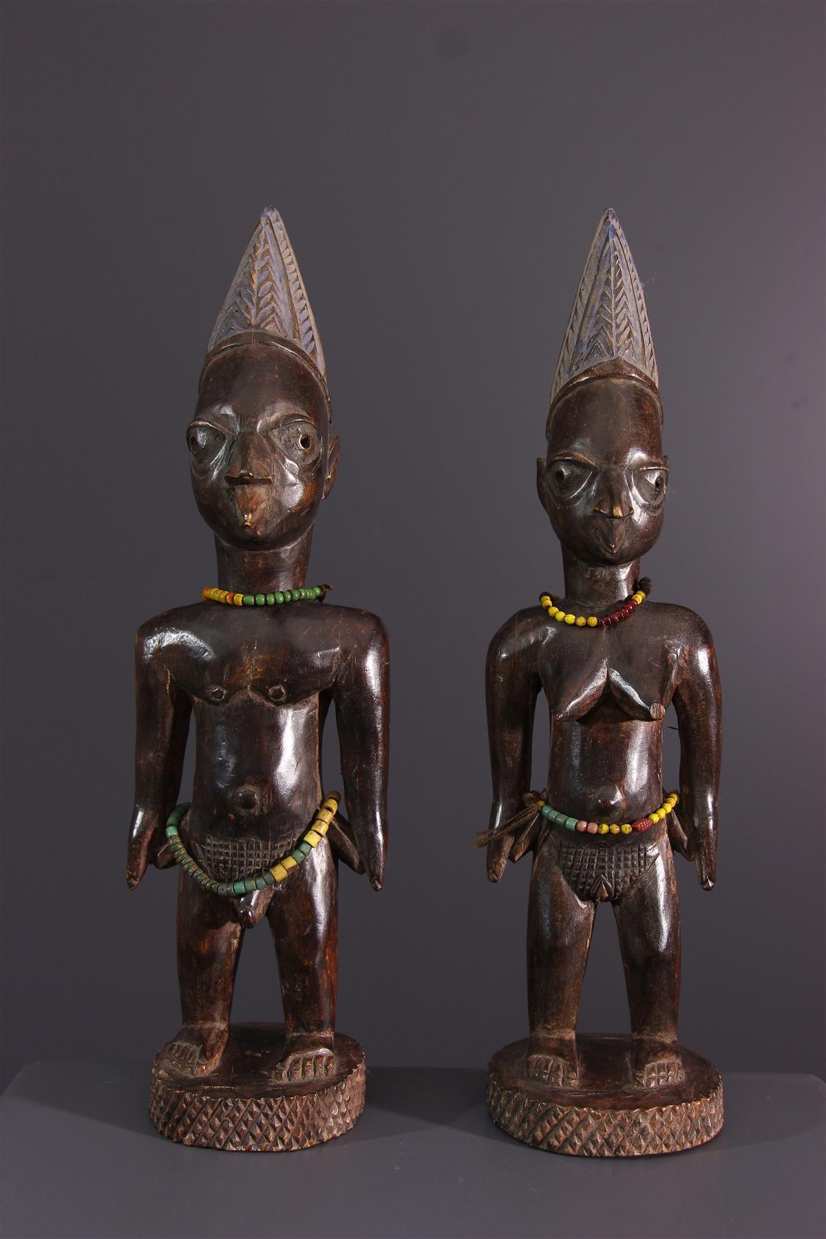 Ibeji couple - African art