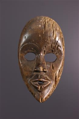 African art - Mask Dan Zapkei or Gunye ge
