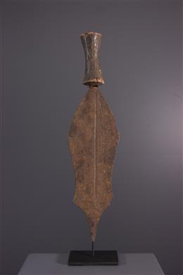 African art - Mbole Short sword currency