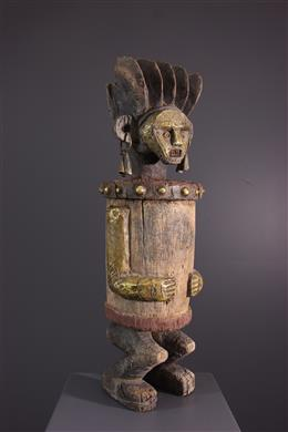 African art - Ambete reliquary statue, Mbte