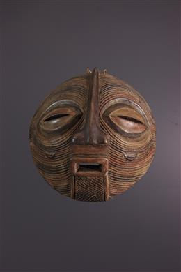African art - Large Luba Kifwebe mask