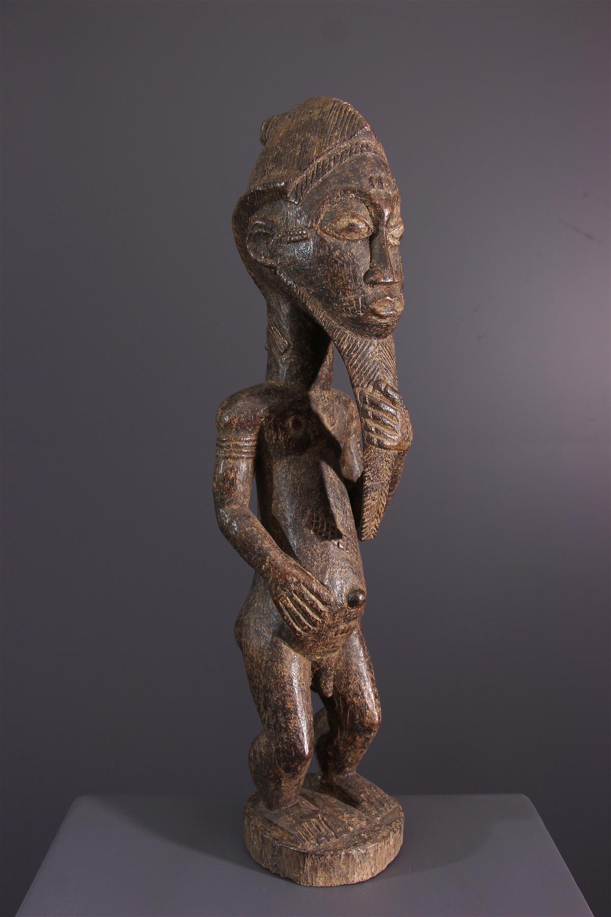 Statue Baoule - African art