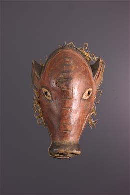 African art - Small Tschokwe Ngulu mask