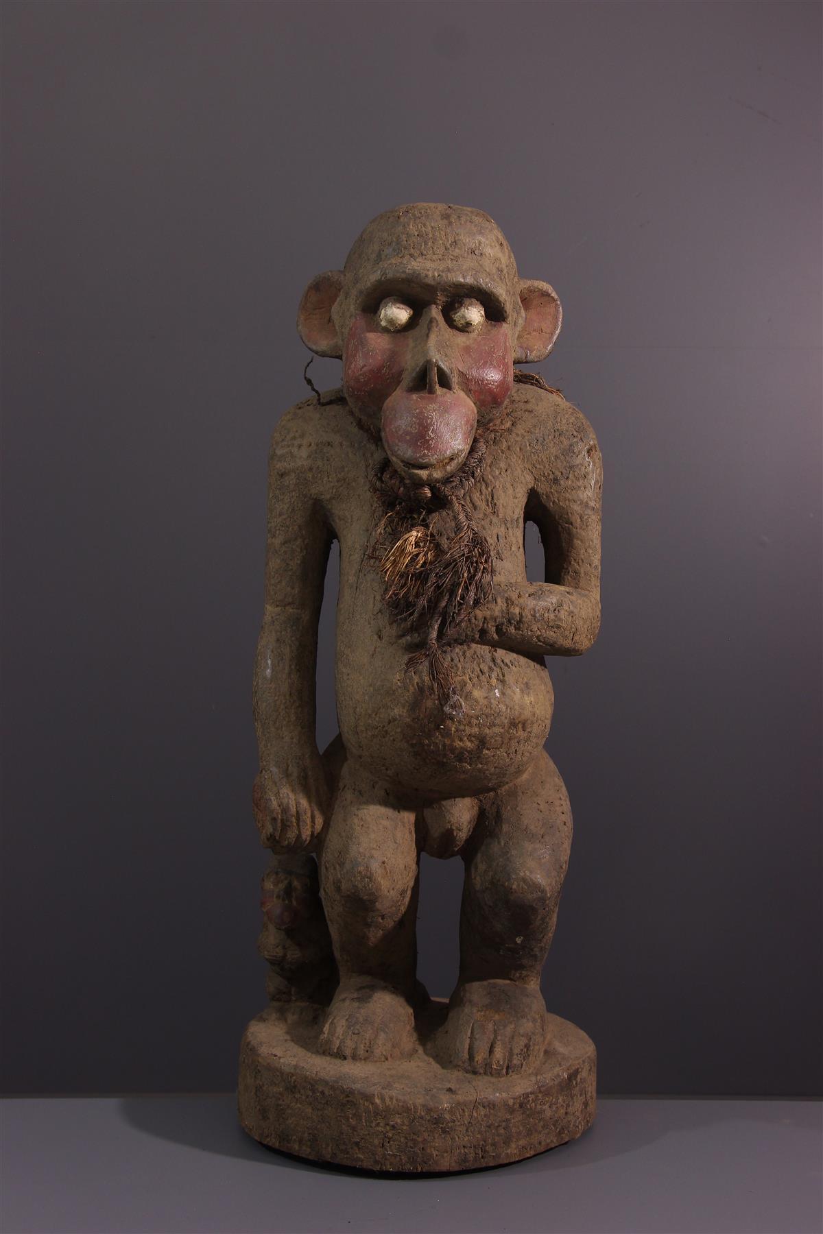 Statue Boulou - African art