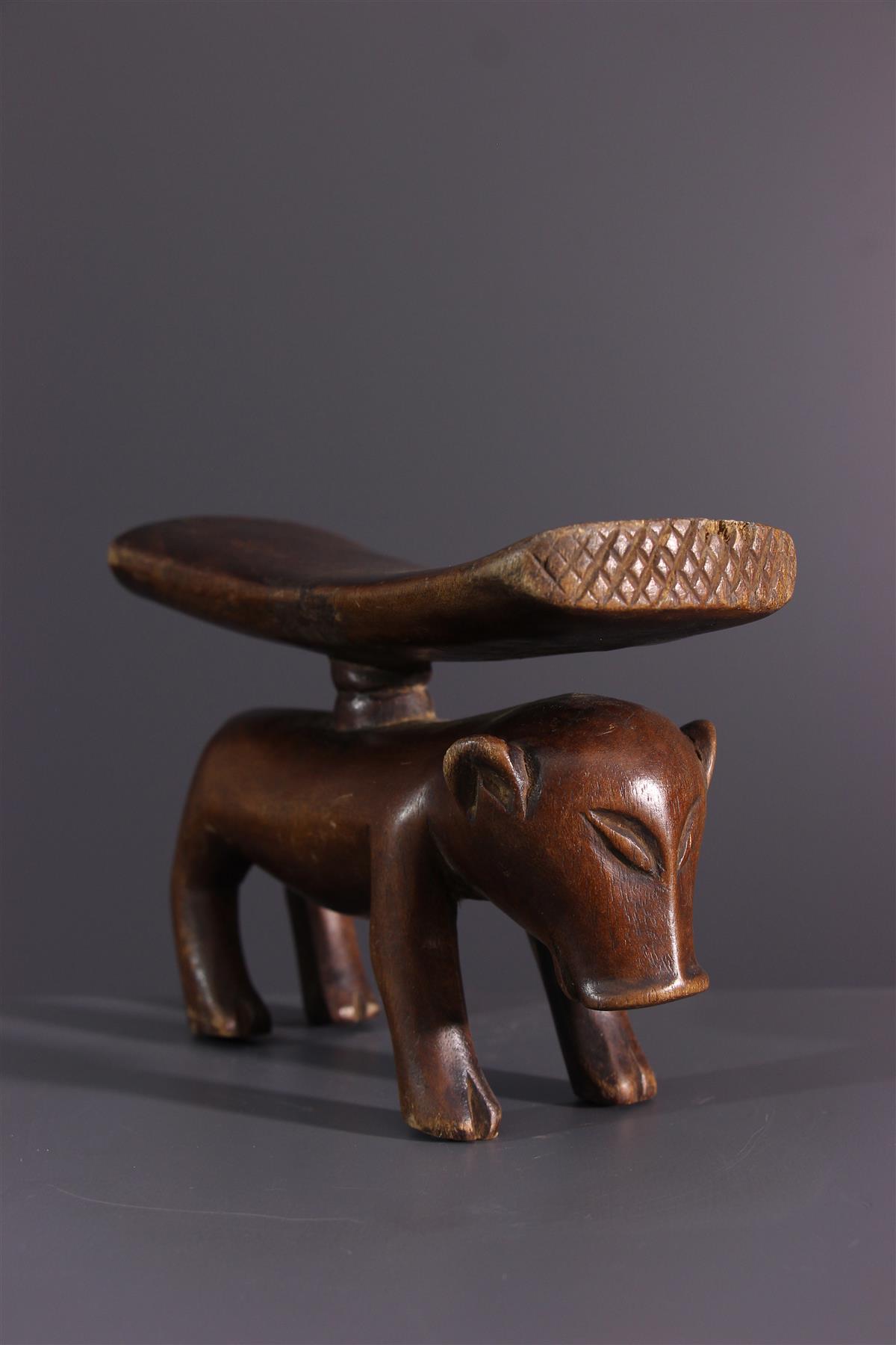 Tschokwe neck press - African art