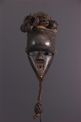 African art - Mask Salampasu Kasangu