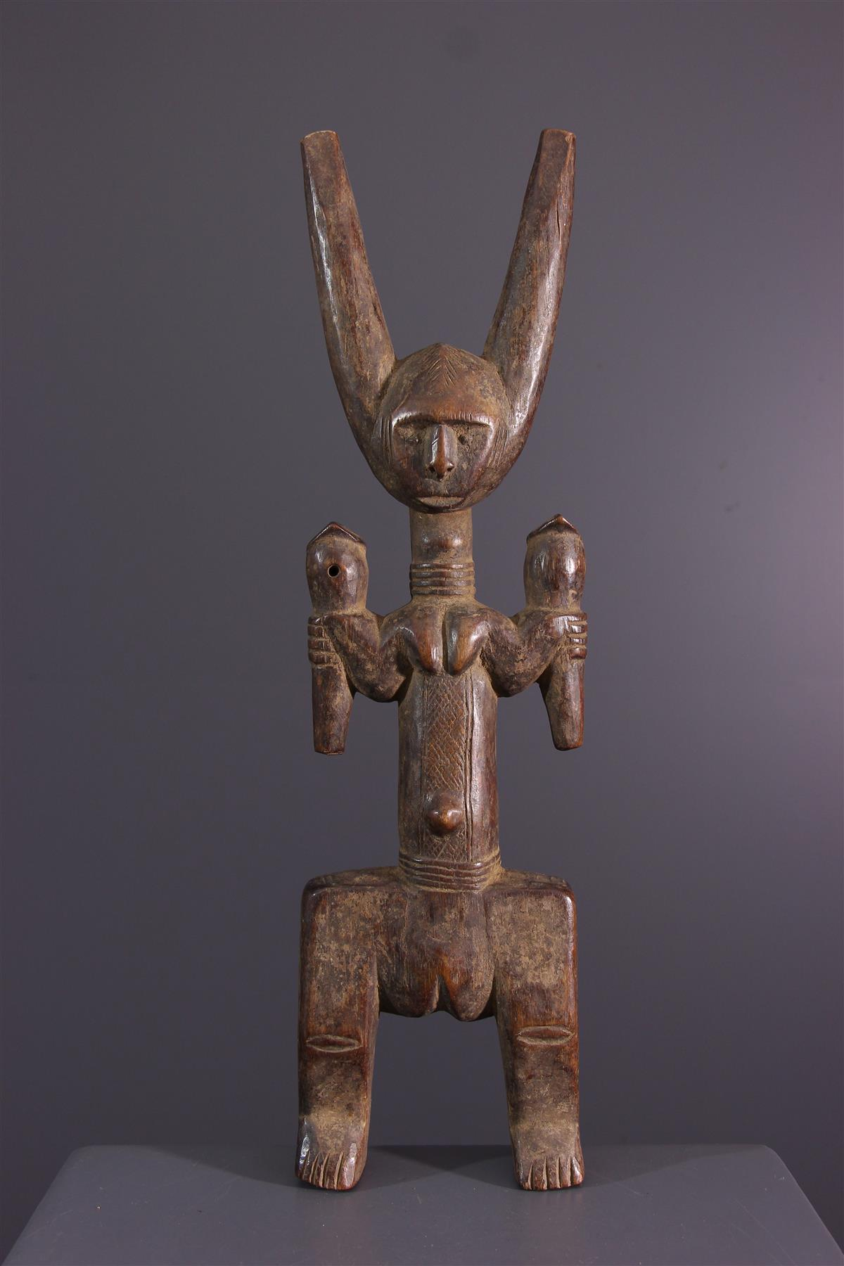 Mossi slingshot - African art
