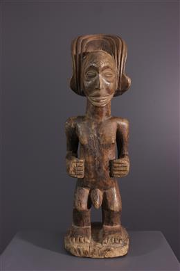 African art - Statuette Chokwe Mwanangana