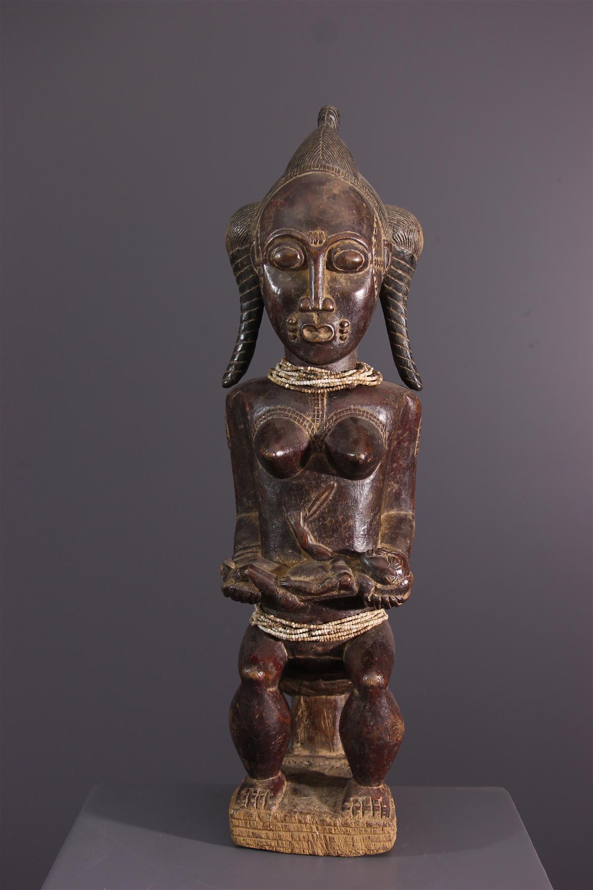 Baule statue - African art
