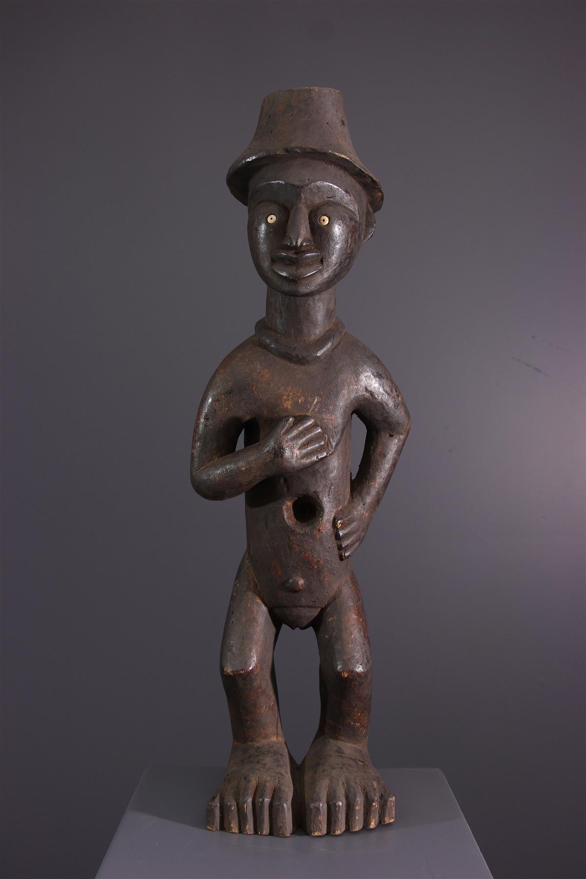 Statue Bakongo - African art