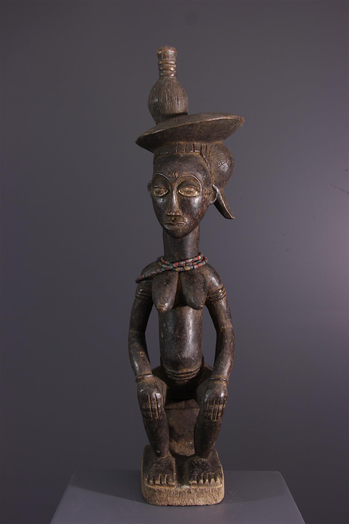 Statuette Baule - African art