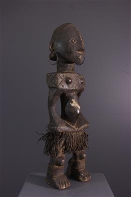 African art - Female figure Ngbandi Ngbirondo