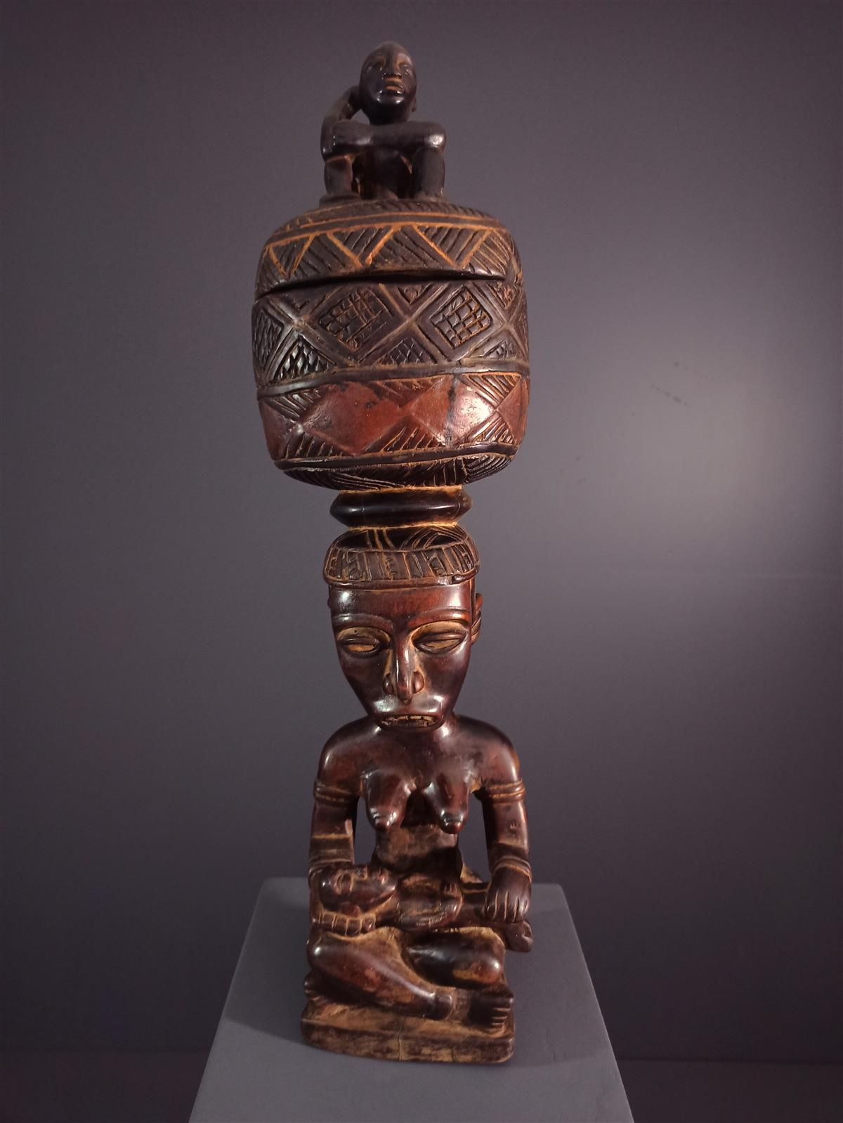 Kongo Box - African art