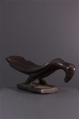 African art - Yaka Musaw neck support